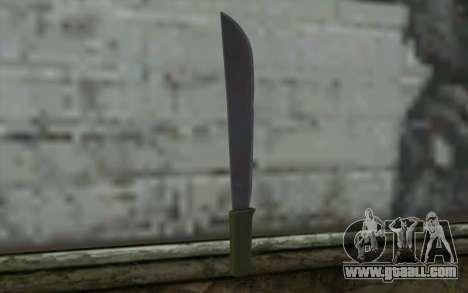 Machete (DayZ Standalone) v1 for GTA San Andreas second screenshot