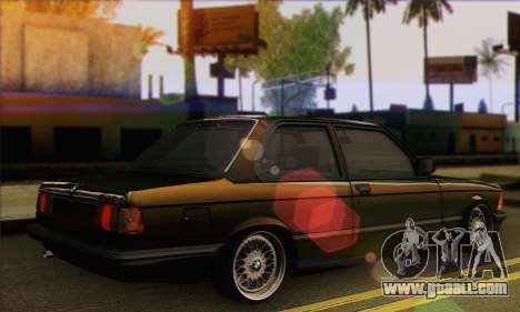 BMW 3 Series (E21) for GTA San Andreas left view