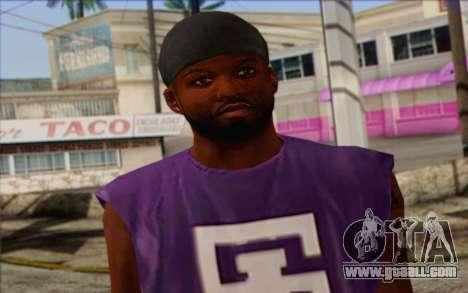 Ballas from GTA 5 Skin 1 for GTA San Andreas third screenshot