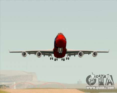 Boeing 747-400ER Qantas (Wunala Dreaming) for GTA San Andreas right view