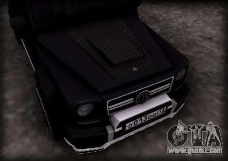 Brabus 800 for GTA San Andreas left view