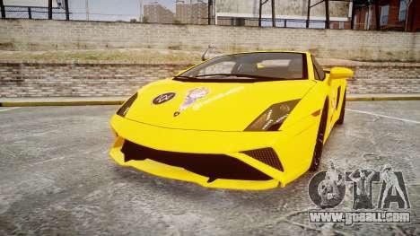 Lamborghini Gallardo 2013 Honoka Kousaka for GTA 4