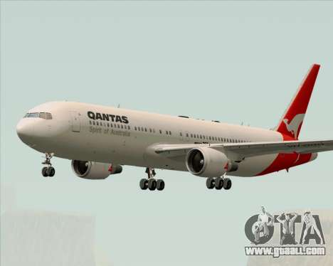 Boeing 767-300ER Qantas (Old Colors) for GTA San Andreas right view