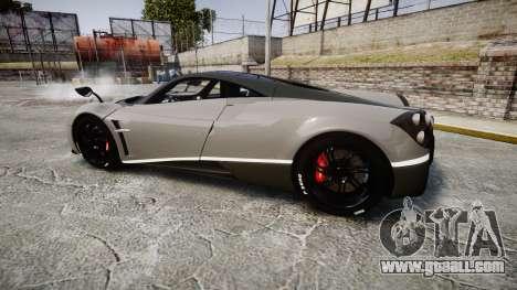Pagani Huayra 2013 Carbon for GTA 4 left view
