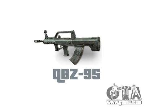 Machine QBZ-95 icon3 for GTA 4 third screenshot