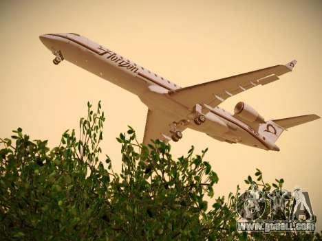 Bombardier CRJ-700 Horizon Air for GTA San Andreas right view