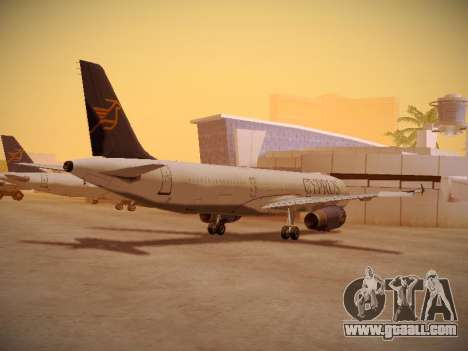 Airbus A321-232 Cyprus Airways for GTA San Andreas right view