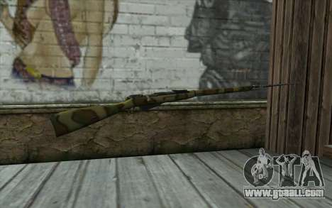 The Mosin-v12 for GTA San Andreas second screenshot