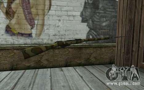 The Mosin-v12 for GTA San Andreas second screenshot
