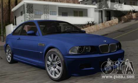 BMW E46 M3 for GTA San Andreas