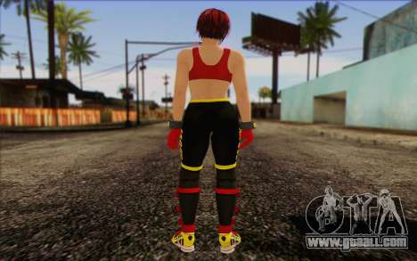 Mila 2Wave from Dead or Alive v8 for GTA San Andreas second screenshot