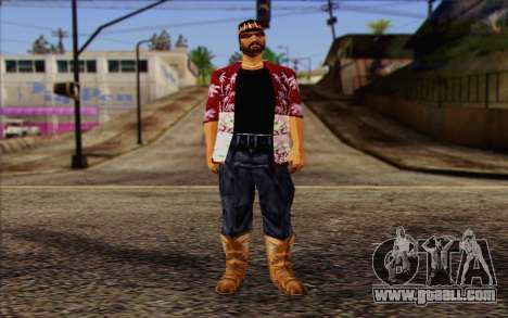 Cartel from GTA Vice City Skin 1 for GTA San Andreas