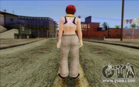 Mila 2Wave from Dead or Alive v17 for GTA San Andreas second screenshot