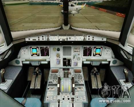 Airbus A320-200 Tigerair Australia for GTA San Andreas interior