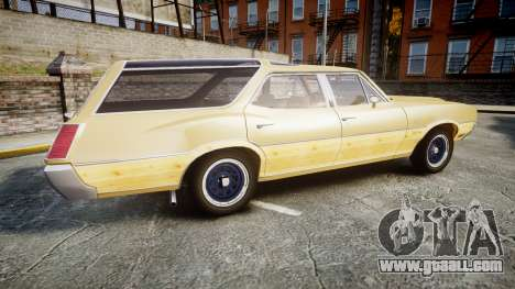 Oldsmobile Vista Cruiser 1972 Rims1 Tree5 for GTA 4 left view