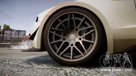 Ford Mustang GT 2014 Custom Kit PJ2 for GTA 4 back view