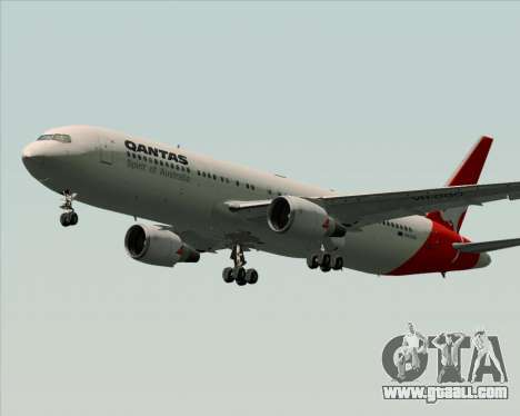 Boeing 767-300ER Qantas (Old Colors) for GTA San Andreas wheels