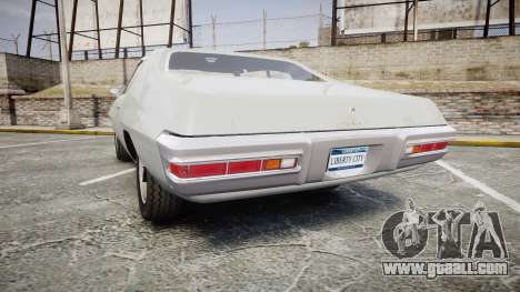 Pontiac Le Mans 1971 Rims2 for GTA 4 back left view