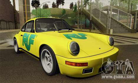RUF CTR Yellowbird 1987 Tunable for GTA San Andreas right view