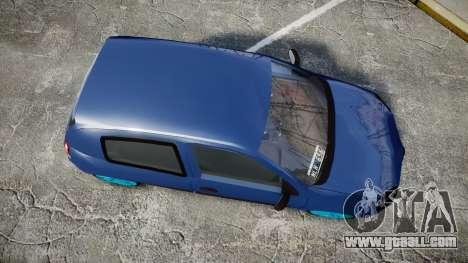 Renault Clio Mio 2014 for GTA 4 right view