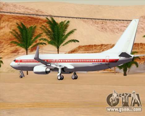 Boeing 737-800 EG&G - Janet for GTA San Andreas upper view