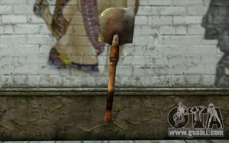 Sapper Shovel (Battlefield: Vietnam) for GTA San Andreas second screenshot