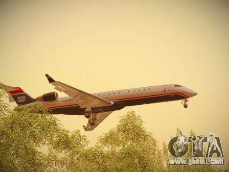 Bombardier CRJ-700 US Airways Express for GTA San Andreas interior