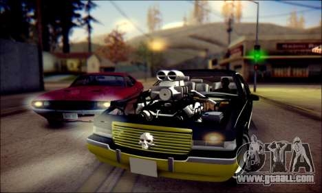 Cadillac Fleetwood 1993 Lowrider for GTA San Andreas left view