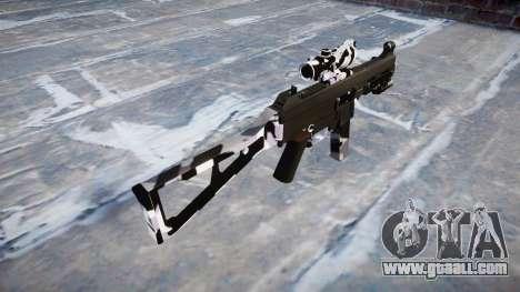 Gun UMP45 Siberia for GTA 4 second screenshot