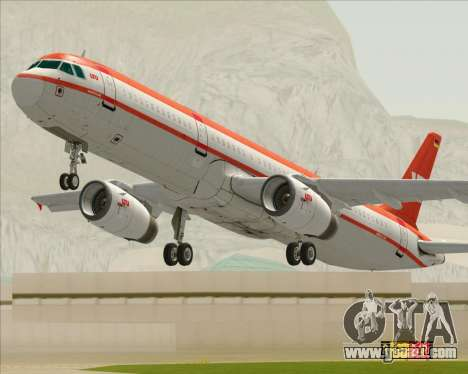 Airbus A321-200 LTU International for GTA San Andreas