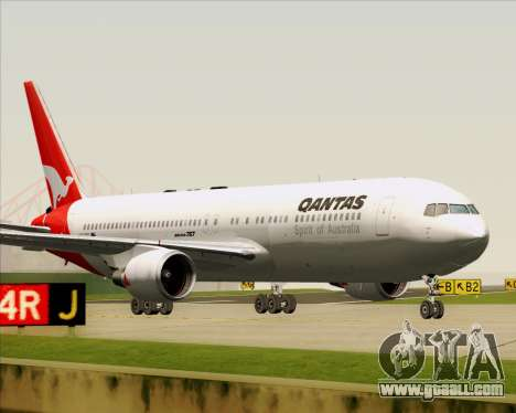 Boeing 767-300ER Qantas (Old Colors) for GTA San Andreas left view