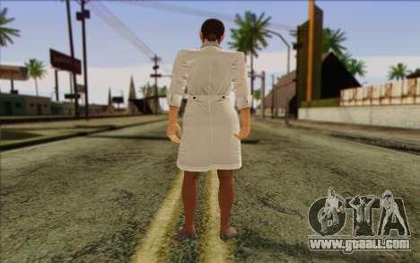 Metal Gear Solid 4 Naomi Hunter for GTA San Andreas second screenshot