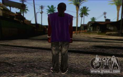 Ballas from GTA 5 Skin 1 for GTA San Andreas second screenshot