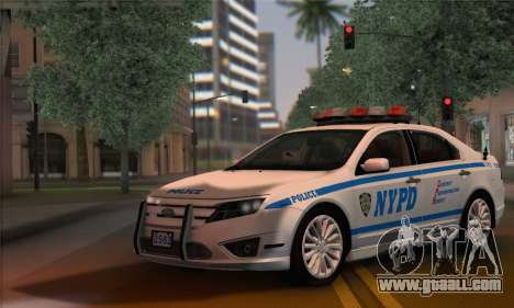 Ford Fusion NYPD v2.0 for GTA San Andreas