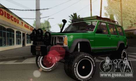 Jeep Cherokee 1998 Off Road 4x4 for GTA San Andreas