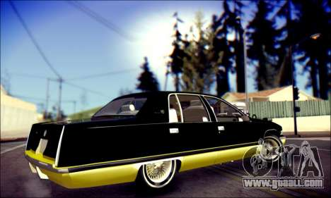 Cadillac Fleetwood 1993 Lowrider for GTA San Andreas right view