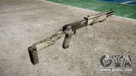Ружьё Franchi SPAS-12 Benjamins for GTA 4 second screenshot