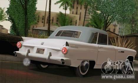 Smith Thunderbolt from Mafia 2 for GTA San Andreas back left view