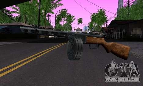 Gun Shpagina for GTA San Andreas