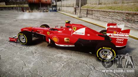 Ferrari F138 v2.0 [RIV] Massa TSD for GTA 4 left view