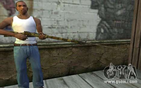 The Mosin-v12 for GTA San Andreas third screenshot