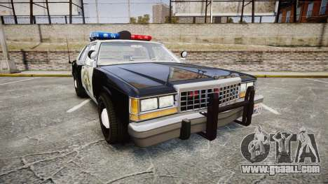 Ford LTD Crown Victoria 1987 Police CHP1 [ELS] for GTA 4