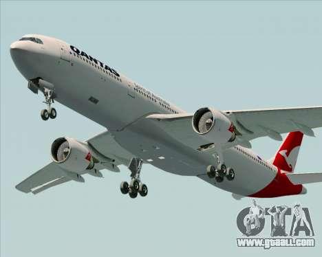 Airbus A330-300 Qantas (New Colors) for GTA San Andreas engine