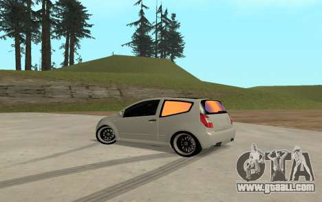 Citroen C2 for GTA San Andreas left view