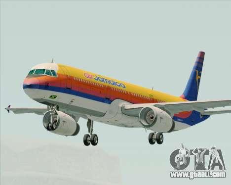 Airbus A321-200 Air Jamaica for GTA San Andreas