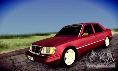 Mercedes-Benz E320 Delta Garage for GTA San Andreas