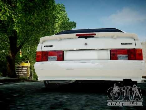 VAZ 2114 for GTA 4 back view