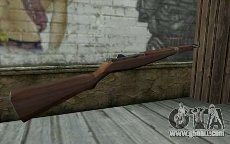 M1 Garand from Day of Defeat for GTA San Andreas second screenshot