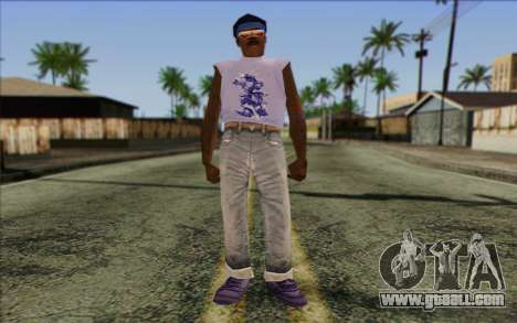 Haitian from GTA Vice City Skin 2 for GTA San Andreas