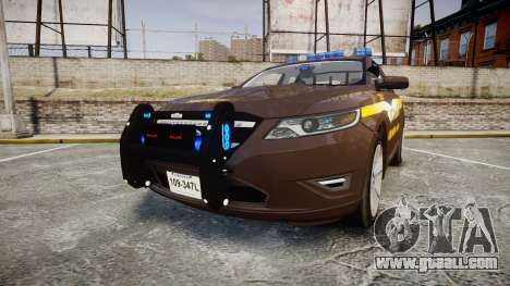 Ford Taurus Sheriff [ELS] Virginia for GTA 4